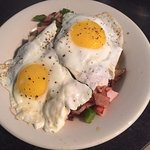 Try one of our delicious breakfast bowls - breakfast is served all day