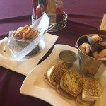 Appetizer: Calamari and Seafood Bucket, fresh and yummy!!