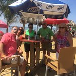 Great time on beach at Kentmorr Restaurant-Dirty Dave's