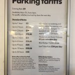 Parking details - Barbican Car Park