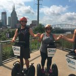 Beautiful Nashville sites from the segway tour!!!
