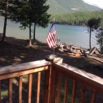 View of lake from our deck