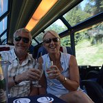 A bit of bubbly on the GoldenPass!