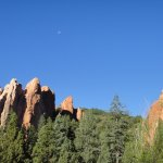 You can see Garden of the Gods