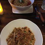 Delicious Pad-Thai and Hot Noodle Curry