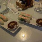 Goi Cuon - spring rolls of shrimp with pork