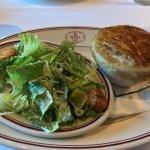 Mini Chicken Pot Pie with Caesar Salad 07-17-17
