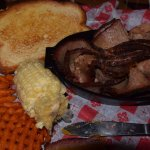 Beef Brisket - very good - large portion