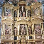 Retablo Mayor, de Juan de Bascardó realizado en pleno siglo XVII, de estilo manierista.