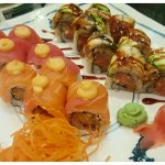 Million Dollar Roll and Ocean Roll - so fresh and delicious!