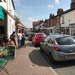 Hoole high street (one street over from Stone Villa)