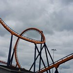 Dominator, a floorless coaster that used to be at Geauga Lake Park.