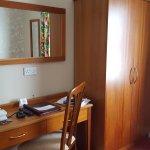 desk & closet