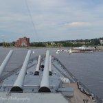 Bow of USS Massachusetts