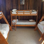 Bunk room in double cottage