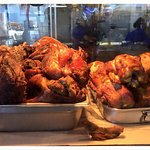 Delicious Pernil and Pollo Asado