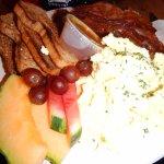 My big boy breakfast...whoa.