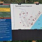Zeiner campground map