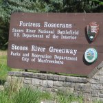 Sign for Fortress Rosecrans (and Greenway trails)