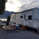 Sierra Rental Trailer and Deck with Picnic Table/BBQ