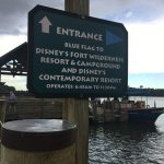 One of the 2 options at the marina. The other boat goes directly to Magic Kingdom.