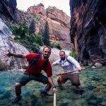 Zion Guru gear + adventure attitude= epic experience!