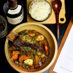 500g Jack's Creek Black Angus short rib MBS2+ with vegetable curry