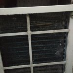 Mold inside air conditioner