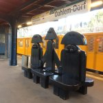 The U-Bahn station for this museum: Dahlem-Dorf