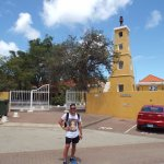 Entrada al Fort Oranje.