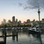 The hotel is set in the harbour apartment area of Auckland called the Viaduct Basin