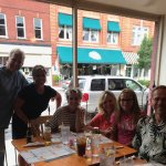 Great family meal at Down on Mainstreet.