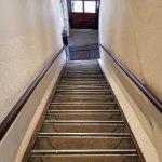 Hotel Ajax entry stairway