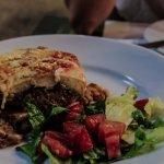 Traditional Greek food.