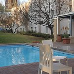 Pool deck at City Lodge Midrand