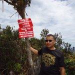 me, at the peak