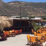 """Strandbar """"Orange-Blue"""", über dem Strand gelegen, herrlicher Ort zum Entspannen"""