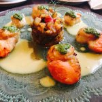 Scallops cooked to perfection