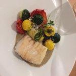 poisson bien cuit et présenté