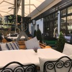 If you want to enjoy and have breakfast in the Hotel garden the welcome to Hotel in Skadarlija L