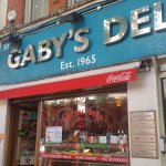 A Great Old Standby Deli in Covent Garden London