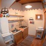 Kitchen in 2-bedroom apartment.