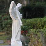 Some of the Statuary in the cemetery