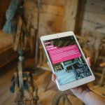 The e-guide (Ipad-mini) tells you all about 500 years of local life and living