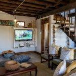 2 bedroom family house - TV room