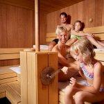 Familien-Badehosen-Sauna