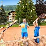 Tennisspass in der Post
