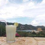 Limonada de Coco au bord de la piscine