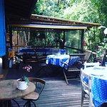 Nosso Restaurante esta a beira do rio bonitinho, um lugar muito  agradável