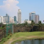 Manila high rises, walls